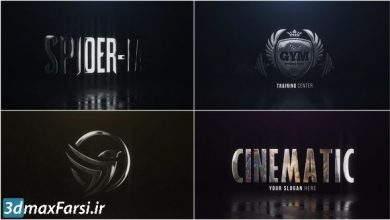 Photo of دانلود پروژه آماده افترافکت نمایش لوگو حرفه ای Cinematic Hero Logo
