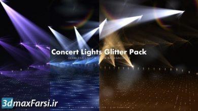 دانلودفوتیج رقص نور کنسرت پریمیر افترافکتادیوسConcert Lights Glitter Pack