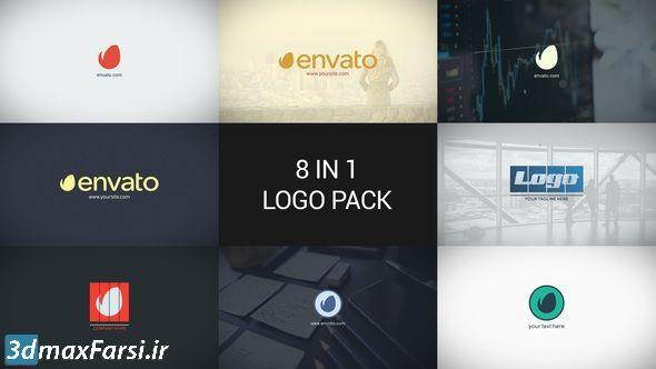 دانلود پروژه افترافکت مخصوص نمایش لوگو برند videohive Minimal Logo Pack