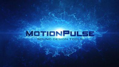 دانلود افکت صوتی موشن پالس Videocopilot Motion Pulse