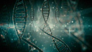 بکگراند موشن گرافیک پزشکی پریمیر پرو + افترافکتPack Backgrounds Futuristic DNA Strands Looped HD