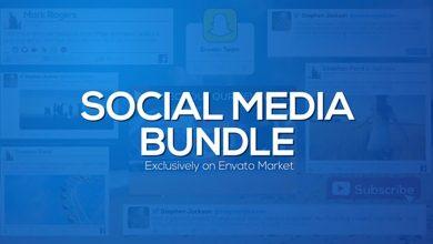 دانلود پروژه آماده افترافکت (تیزر شبکه های اجتماعی) Social Media Bundle