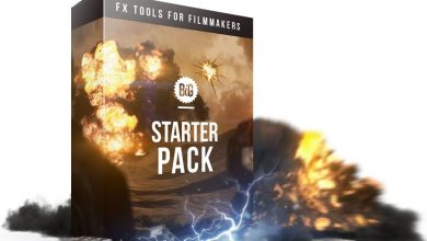 دانلود مجموعهفوتیج جلوه های ویژه (پریمیرافتر افکت) VFX Starter Pack