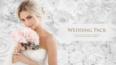 پروژه آماده افتر افکت برای فیلم عروسی (مخصوص مونتاژ فیلم عروسی) Wedding Pack White Roses