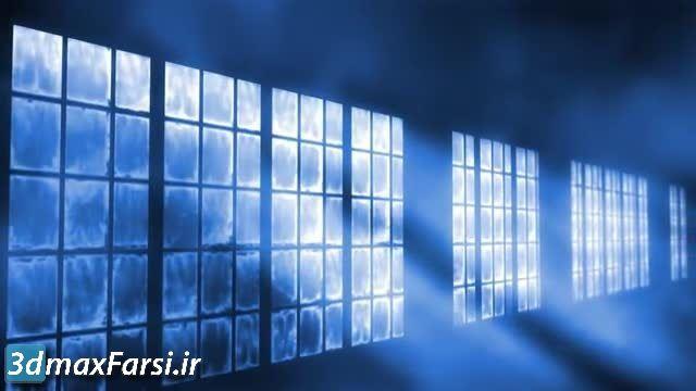 دانلود فوتیج نوری رایگان . موشن گرافیک (پرتوهای نور پنجره + زمینه متحرک)