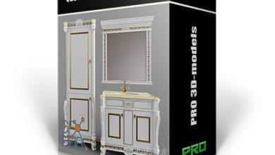 پکیج آبجکت رندر داخلی تری دی مکس وی ری 3DDD PRO models