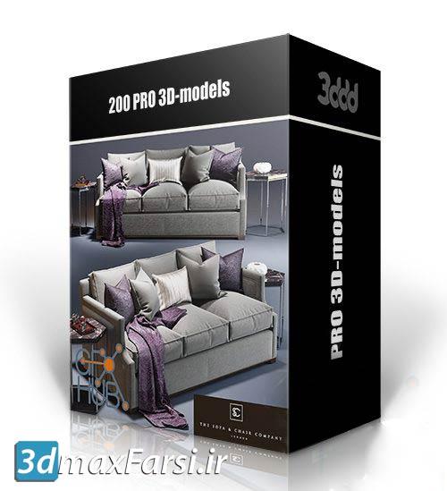 دانلود 200 مدل سه بعدی اتاق خواب 3DDD/3DSky – 200 PRO 3D-models