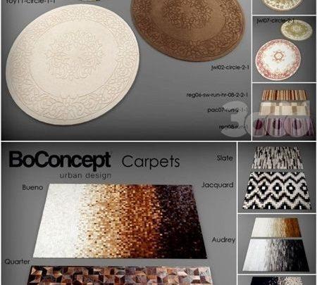 دانلود آبجکت موکت و فرش تری دی مکس ویری 3d carpet models collection