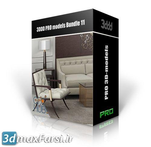 دانلود جدیدترین آبجکتلوازمدکوری منزل 3DDD PRO models – Bundle 11