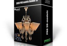 3DDD PRO models – Bundle 13 دانلود آبجکت و مدل سه بعدی تری دی مکس + وی ری