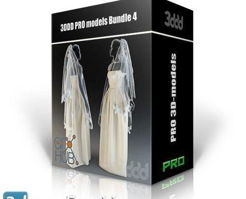 باندل مدل معماری داخلی و آماده به رندر 3DDD PRO models – Bundle 4