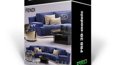 دانلود پکیج شیک و زیبا دکوراسیون داخلی 3DDD PRO models – Bundle 9