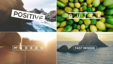 پروژه افترافکت اسلایدشو خلاقانهvideohive : The Slideshow