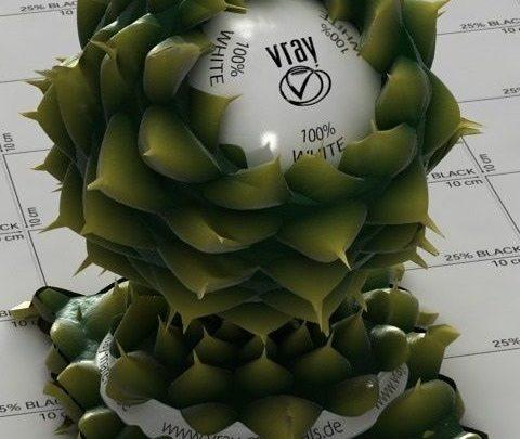 باندل متریال ارگانیک تری دی مکس ویری Vray Organic Materials Bundle