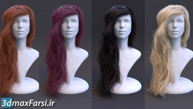 آموزش ساخت متریال مو کرونا Corona for 3ds Max : Hair Material