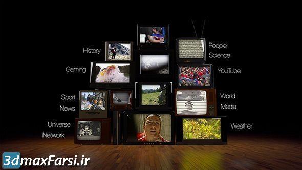 قالب آماده افتتاحیه حماسی تلویزیونی (پروژه افتر افکت) Epic Tv Opener