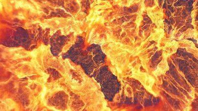 Photo of نمایش لوگو با انفجار و آتش (پروژه آماده افترافکت)Fire Explosion Logo Reveal II