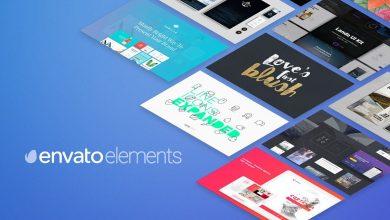 دانلود پروژه افترافکت لوگو شیشه ایElements.envato : Glass Columns Logo