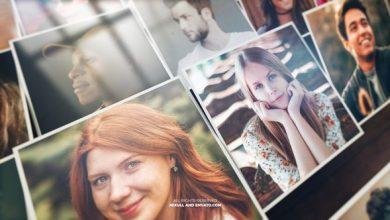 دانلود پروژه افترافکت نمایش موزاییکی ویدیو عکس Mosaic Photo Reveal