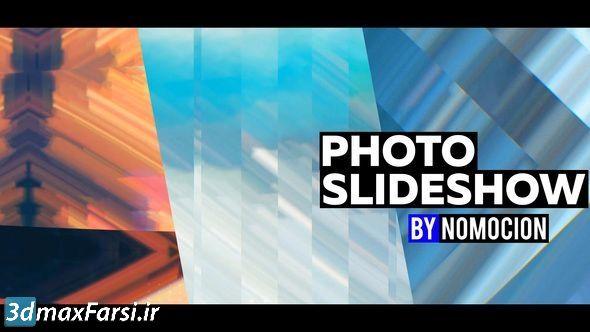 پروژه آماده افتر افکت اسلایدشو عکس Photo Slideshow with Pixel Sorting