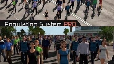 Photo of دانلود آبجکت انسان یونیتی سه بعدی Population System PRO
