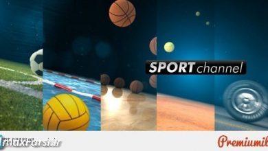 دانلود پروژه آماده تیزر ویدئویی شبکه ورزشی برای افتر افکت videohive: Sport Channel
