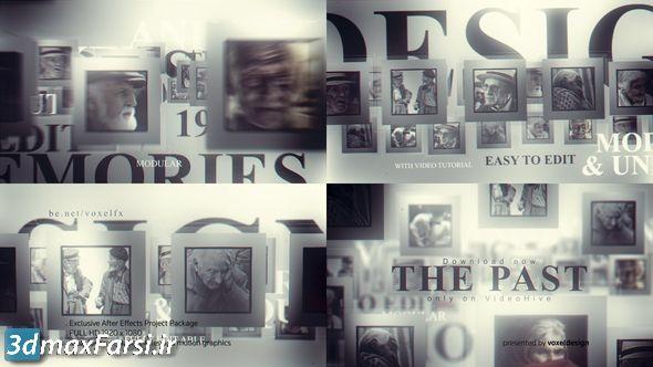 دانلود پروژه آماده افترافکت آلبوم عکسvideohive: The Past Memories Opener