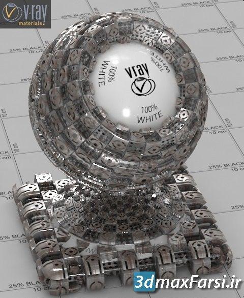 دانلود متریال فلز vray | دانلود تکسچر فلز Vray Metals Materials Bundle