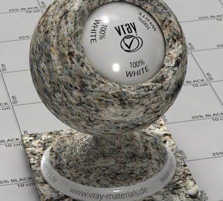 متریال سنگ تری دی مکس ویری با کیفیت بالا Vray Stones Materials Bundle