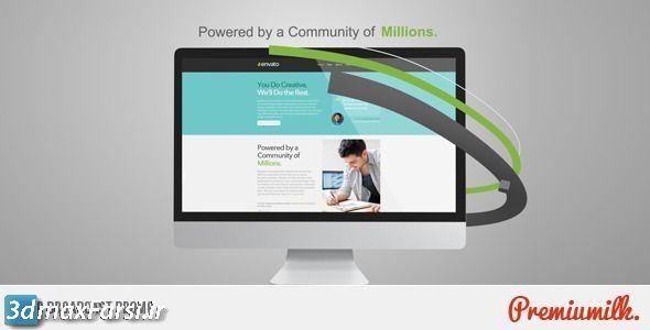 دانلود تیزر تبلیغاتی برودکست وب (پروژه افترافکت) Web Broadcast Promo