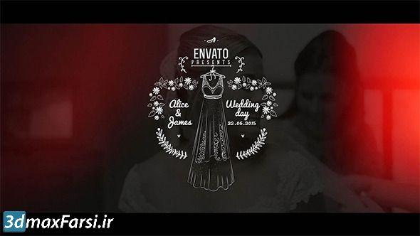 دانلود بهترین پروژه آماده افتر افکت برای فیلم عروسی Wedding Film Package