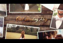 دانلود رایگان پروژه آماده افترافکت مخصوص عروسی videohive: Wedding Gold Slideshow
