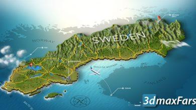 دانلود پلاگین فتوشاپ لند اسکلیپ معماری 3D Map Generator GEO