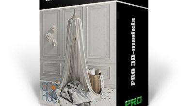 دانلود پکیج سه بعدی آبجکت دکوراسیون داخلی 3DDD PRO models – Bundle 16