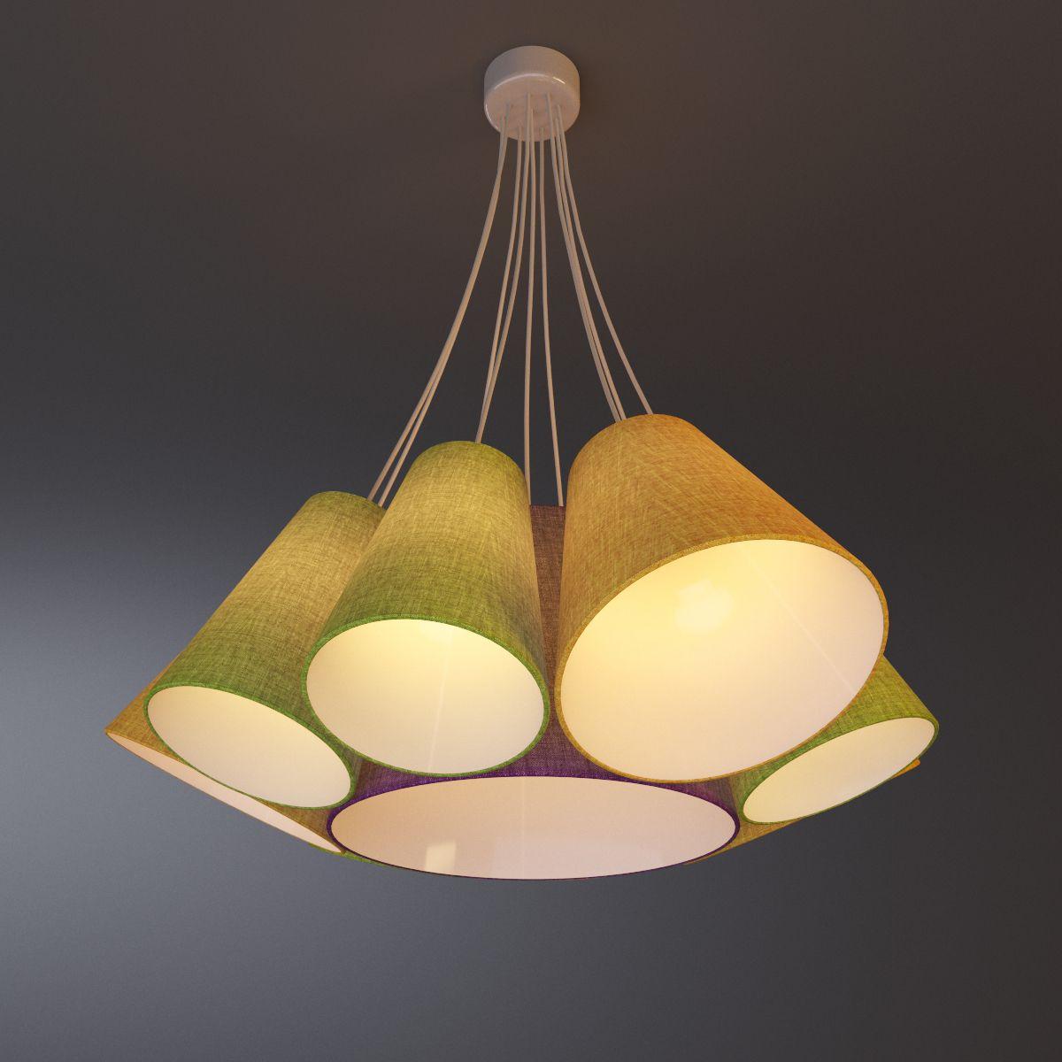 دانلود لوستر کلاسیک 3DDD - Ceiling Lamp