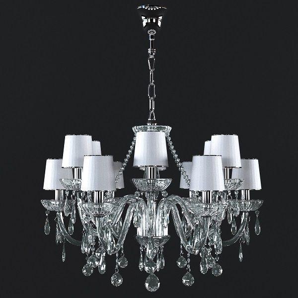 دانلود رایگان مدل سه بعدی لوستر کلاسیک 3DDD - Classic Lamp Set 1