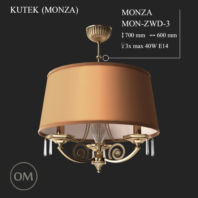 دانلود رایگان مدل سه بعدی لوستر کلاسیک 3DDD - Classic Lamp Set 2
