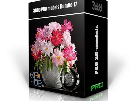باندل آبجکت دکوراسیون داخلی معماری 3DDD PRO models – Bundle 17