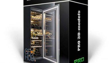 مدل سه بعدی داخلی تکسچر 3DDD PRO models – Bundle 20