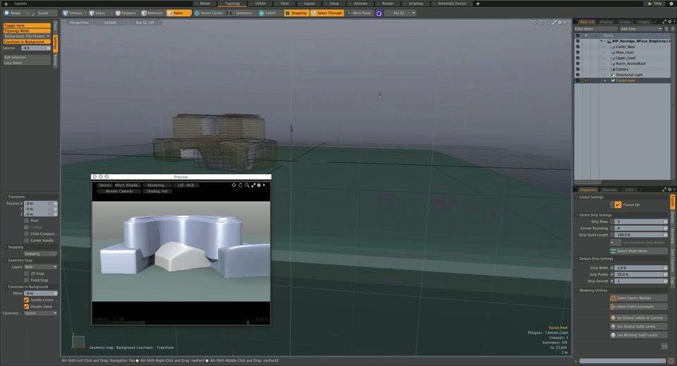 دانلود آموزش نرم افزار مودو در معماری Architectural Design MODO