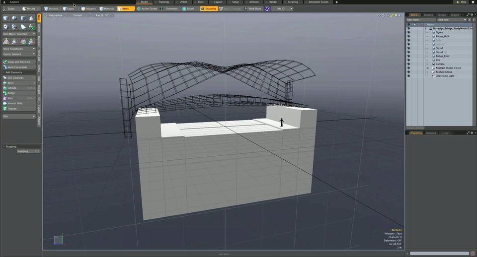 دانلود رایگان آموزش نرم افزار مودو در معماری Architectural Design MODO