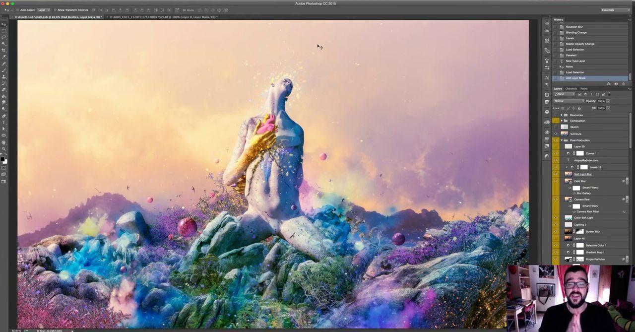 آموزش کامپوزیتینگ عکس تصویر فتوشاپ Compositing Photoshop