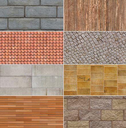 متریال تکسچر Dosch Design - Textures USA Architecture