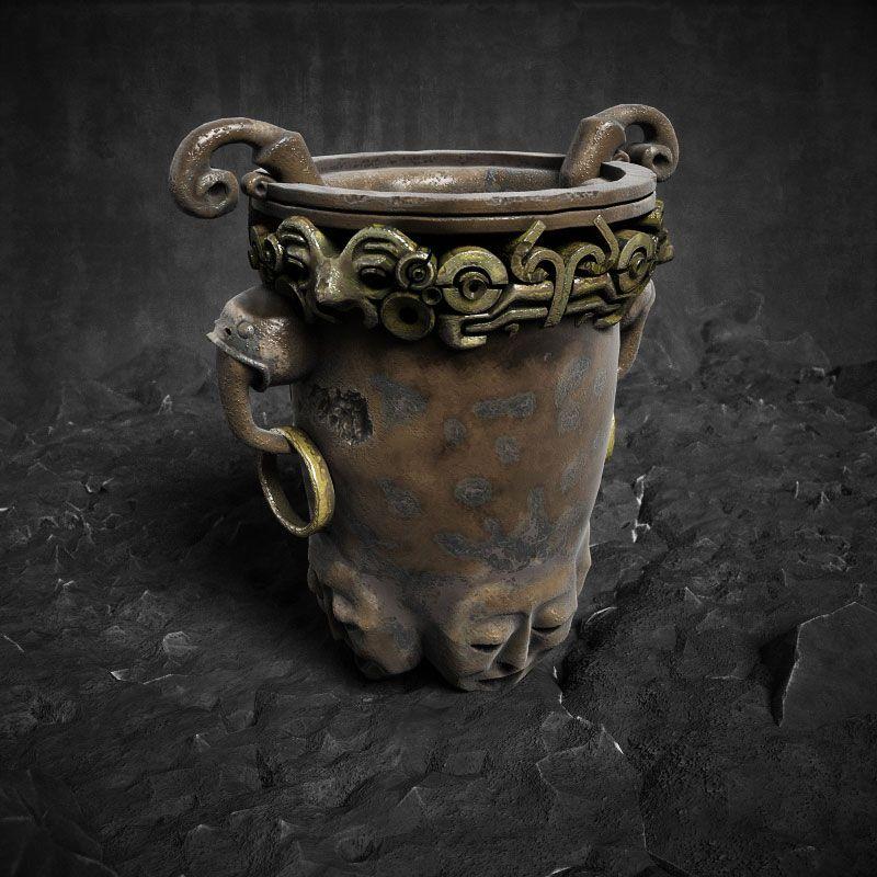 آبجکت باستانی زیرخاکی Evermotion - Archmodel Vol 153