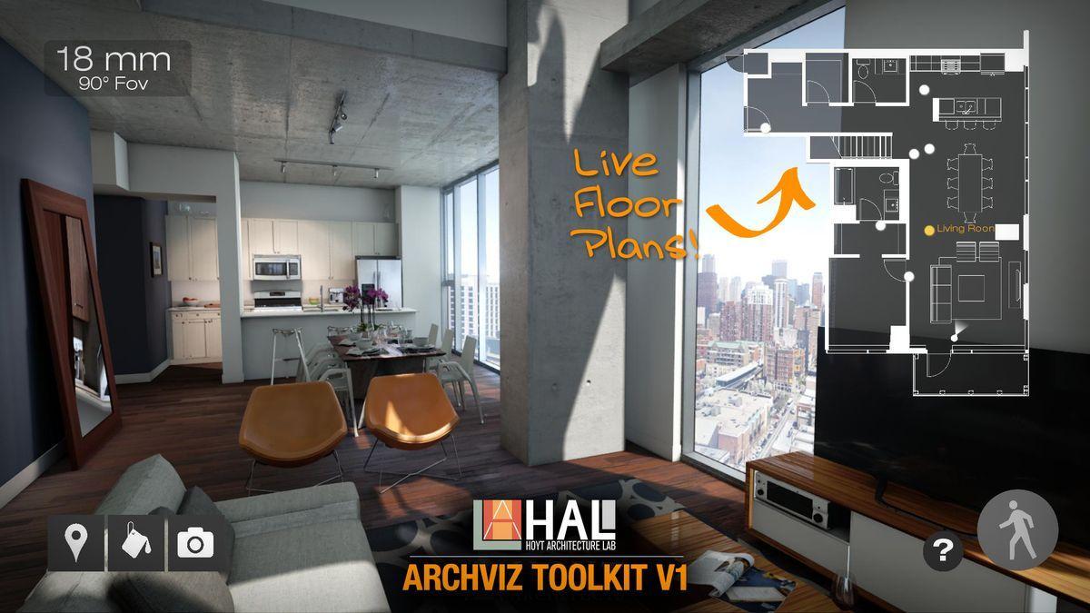 دانلود Unreal Engine - HAL Archviz Toolkit V1