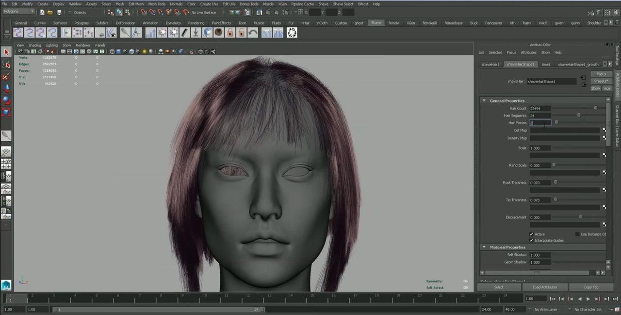 فیلم آموزش مدلسازی و طراحی لباس کاراکتر : مایا زیبراش مارلوس دیزاینر