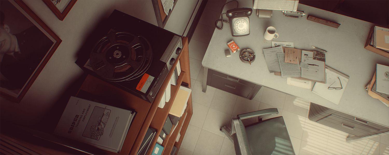دانلود رایگان پروژه محیط داخلی آنریل انجین : دفتر کار نظامی Cubebrush