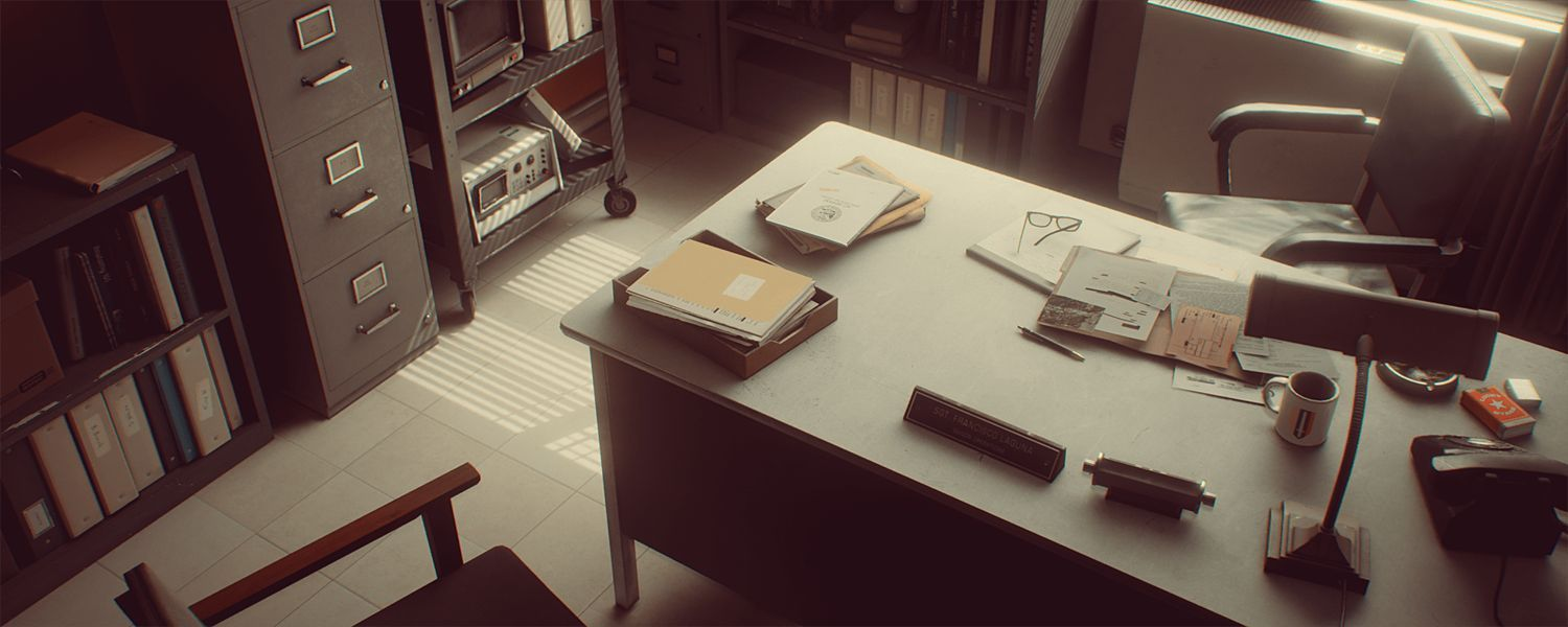 دانلود رایگان Cubebrush – 1971 Saigon Office | Retro Environment UE4