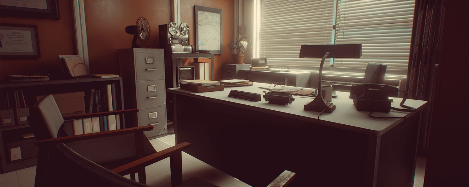 محیط آماده Cubebrush – 1971 Saigon Office | Retro Environment UE4