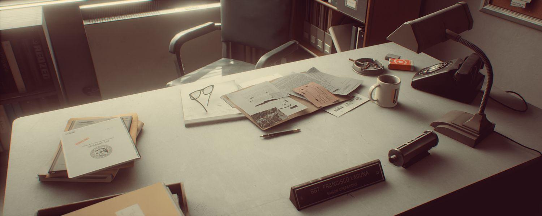 دانلود محیط آماده آنریل انجین Cubebrush 1971 Saigon Office | Retro Environment UE4
